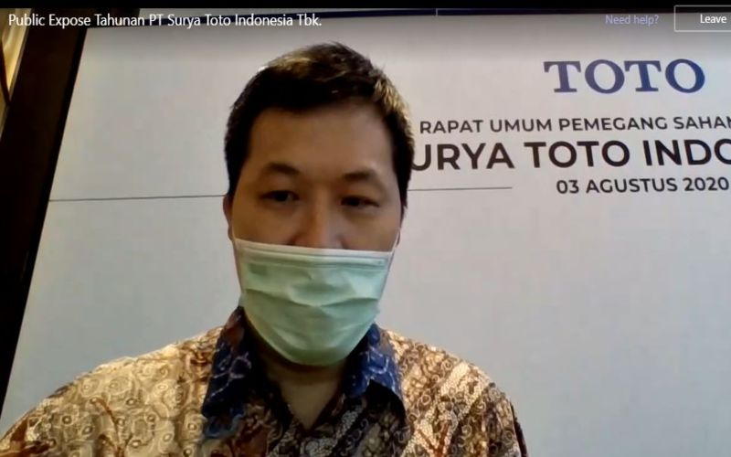 TOTO Surya Toto Indonesia (TOTO) Bagikan Dividen Tunai Rp61,92 Miliar - Market Bisnis.com