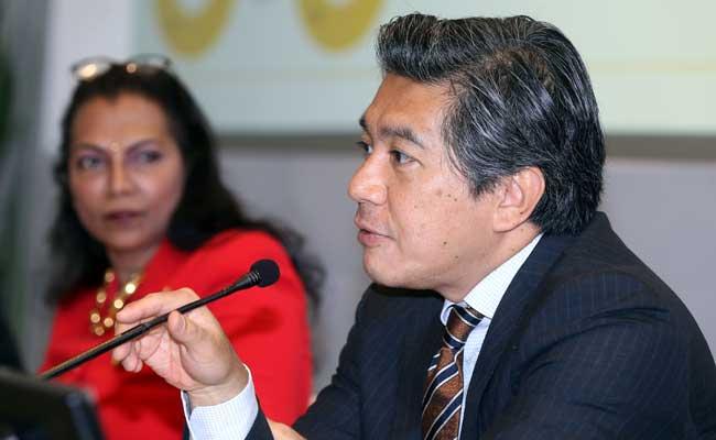 Presiden Direktur Maybank Indonesia Taswin Zakaria. Bisnis - Abdullah Azzam