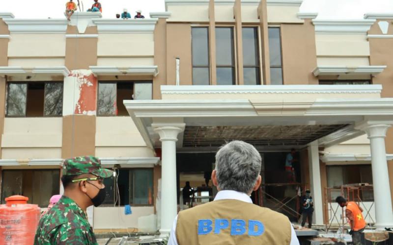 Ilustrasi: Untuk mewujudkan visi wisata medis, Pemkab OKI melakukan renovasi total Hotel Kembar Teluk Gelam yang kini diperuntukan menjadi PDP Center Covid-19.  - corona.kaboki.go.id\n