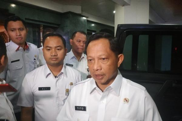 Mendagri Tito Karnavian - Antara/Boyke Ledy Watra