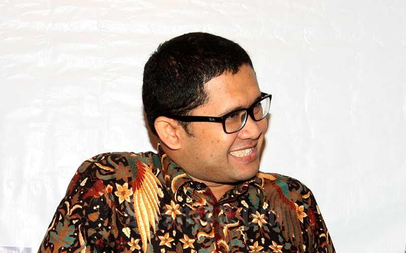 Kepala Badan Kebijakan Fiskal (BKF) Kemenkeu Febrio Kacaribu, Selasa (28/2). Bisnis - Dedi Gunawan