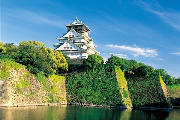Ilustrasi-Kastil Osaka - osaka/info.jp