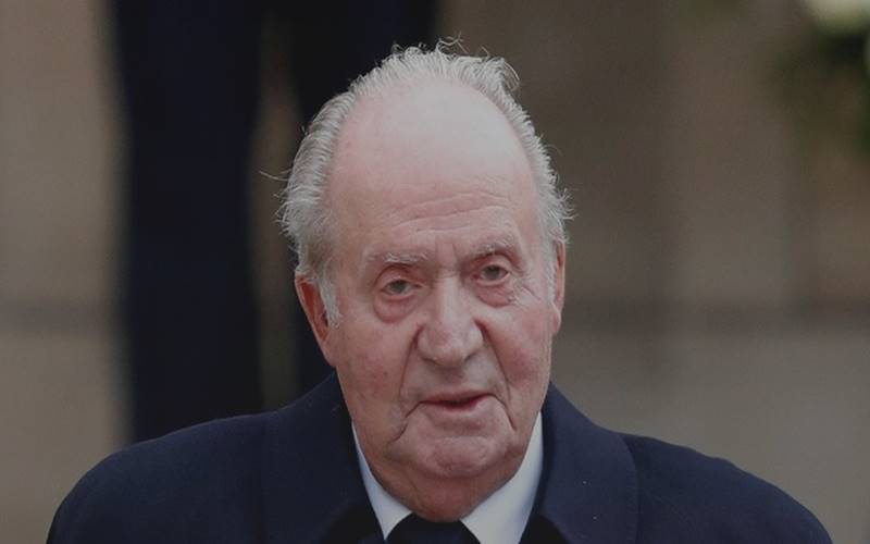 Eks Raja Spanyol Juan Carlos. - Istimewa
