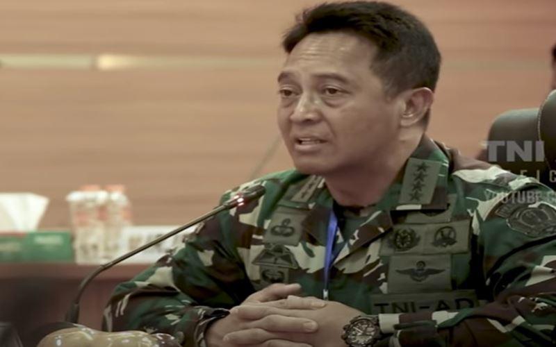 Kepala Staf TNI Angkatan Darat Jenderal TNI Andika Perkasa. - Youtube