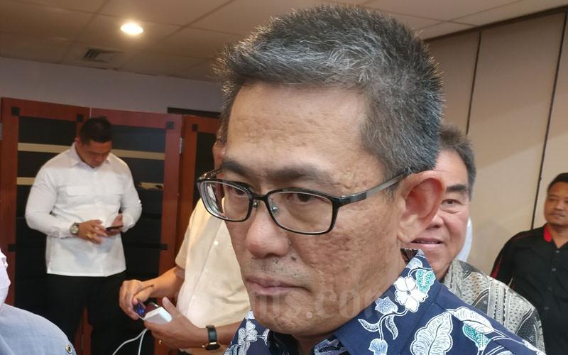 Wakil Koordinator Himpunan Kawasan Industri (HKI) Kepulauan Riau (Kepri) Tjaw Hoeing. - Bisnis/Bobi Bani.