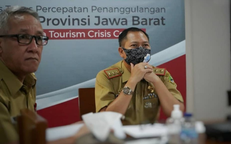 Kepala Dinas Pariwisata dan Kebudayaan Jawa Barat Dedi Taufik