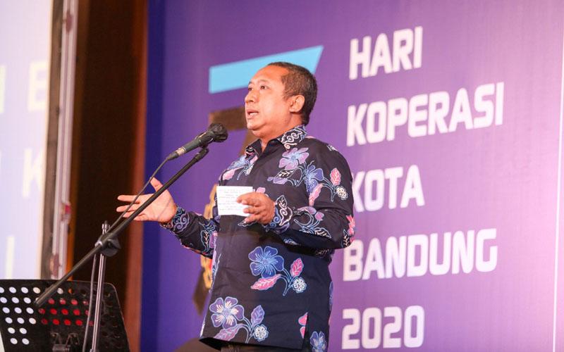 Wakil Wali Kota Bandung Yana Mulyana./Bisnis - Dea Andriyawan