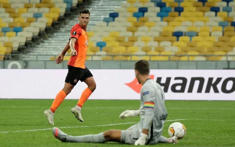 Pertandingan Shakhtar Donetsk vs Wolfsburg