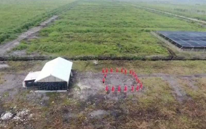 Pemkab OKI mengungkap pemberian izin lokasi PT Bintang Harapan Palma (BHP) di Kecamatan Pangkalan Lampam dan Tulung Selapan, sudah berdasarkan prosedur dan peraturan perundangan yang berlaku. - Istimewa