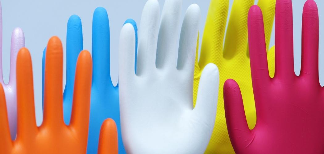Ilustrasi sarung tangan. - Bloomberg