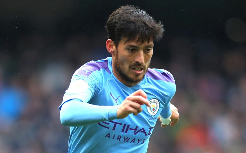 Pemain Manchester City, David Silva - Premier League