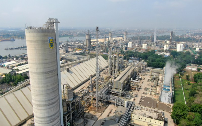 Pabrik PT Pupuk Sriwidjaja (Pusri) Palembang. istimewa