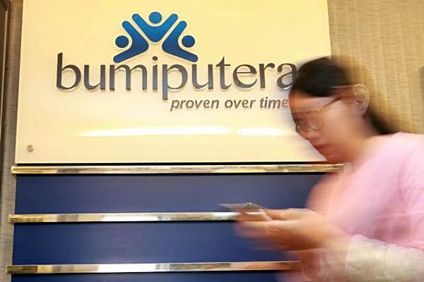 Karyawan beraktivitas di Kantor Asuransi Jiwa Bumiputera, di Jakarta. - JIBI/Abdullah Azzam