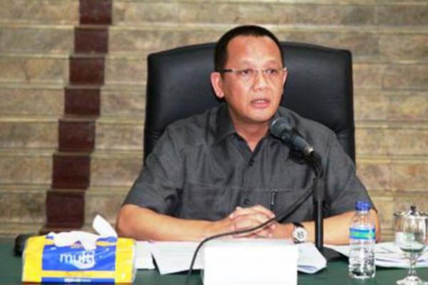 Nurhadi saat masih menjabat sebagai Sekjen MA - Bisnis.com
