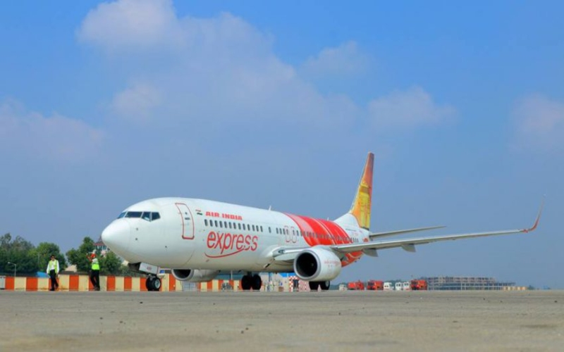 Penampakan pesawat Air India Express. Istimewa -  Air India Express