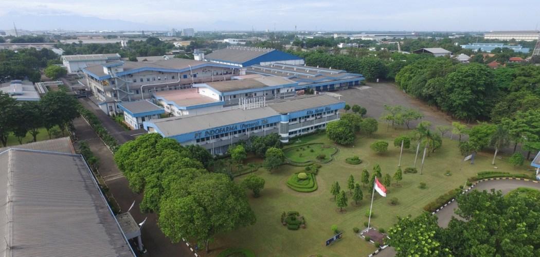 Pabrik PT Indofarma Tbk. Pada 2019, perusahaan farmasi milik negara itu berhasil mencetak laba setelah 3 tahun menderita kerugian. - indofarma.id