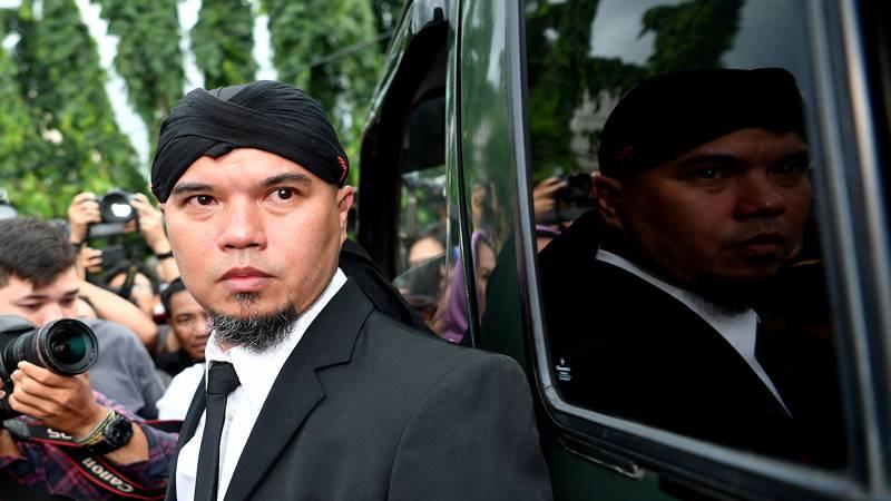 Musisi Ahmad Dhani. ANTARA FOTO - Sigid Kurniawan.