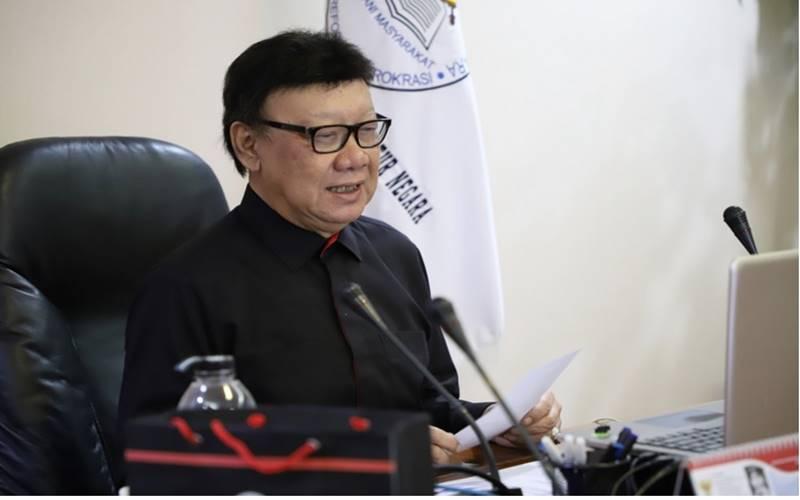 Menteri Pendayagunaan Aparatur Negara dan Reformasi Birokrasi (PANRB) Tjahjo Kumolo. - menpan.go.id