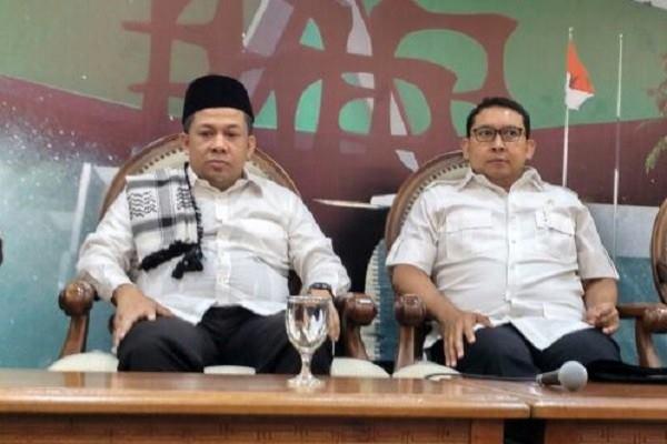 Fahri Hamzah dan Fadli Zon - Antara