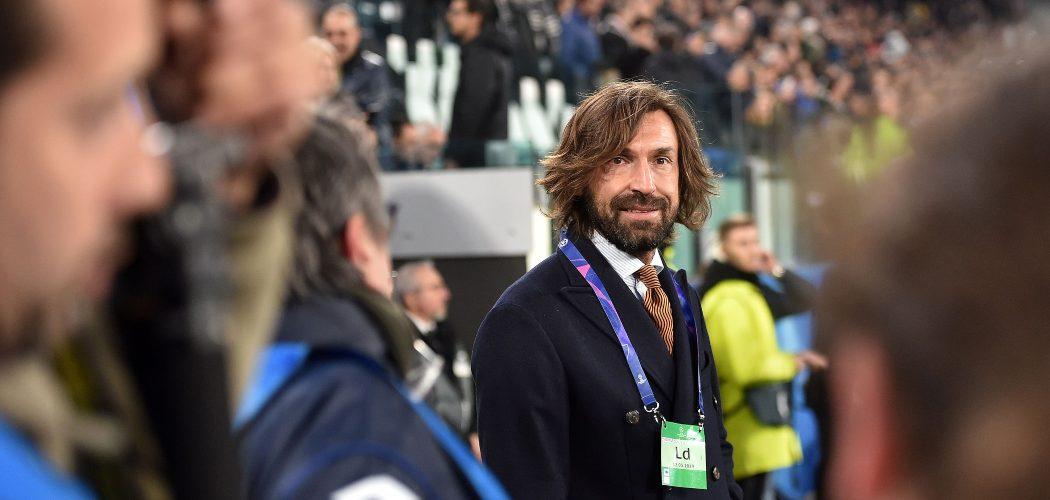Pelatih Juventus yang baru Andrea Pirlo.  - Bloomberg