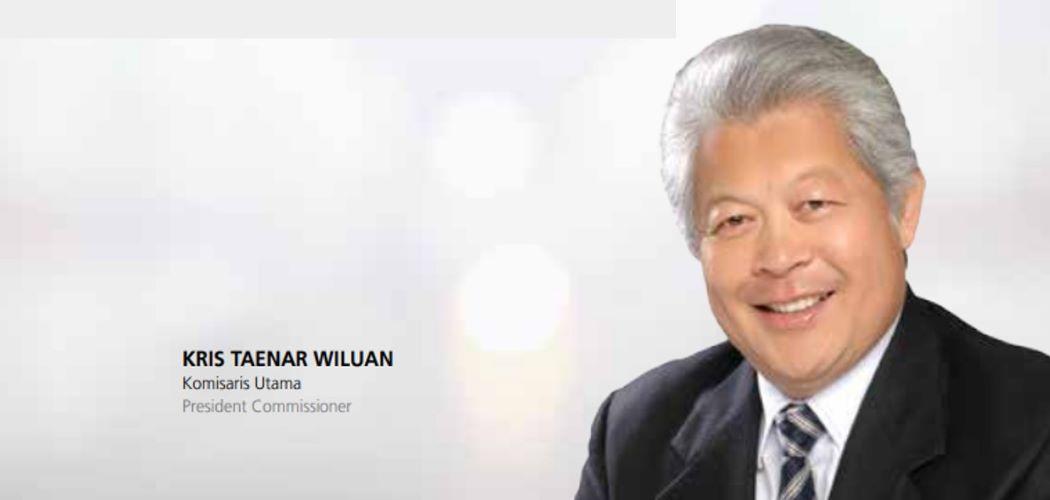 Kris Taenar Wiluan dalam laporan tahunan Citra Tubindo - Dok. Anual Report