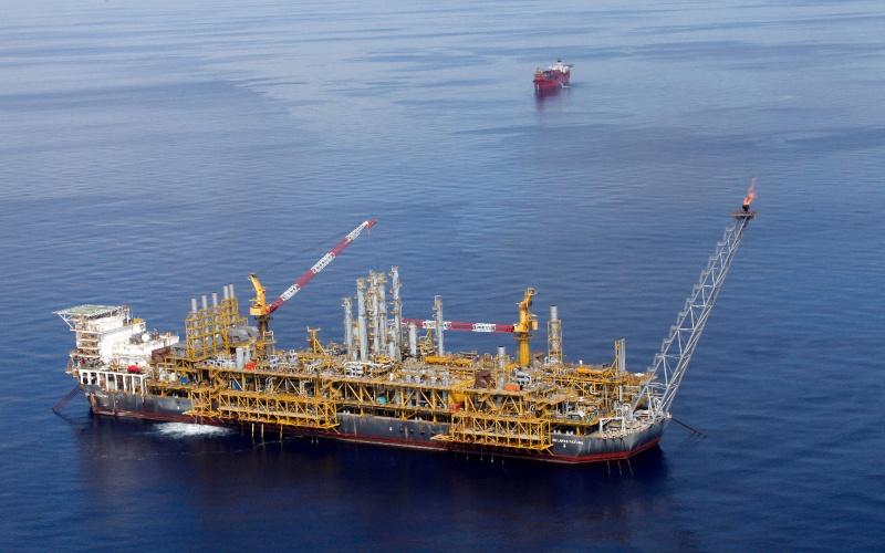 Ilustrasi: Fasilitas produksi dan penyimpanan terapung (Floating Production Storage and Offloading/FPSO) Belanak di South Natuna Sea Block B yang dikelola Medco E&P Natuna (MEPN). Istimewa - SKK Migas.