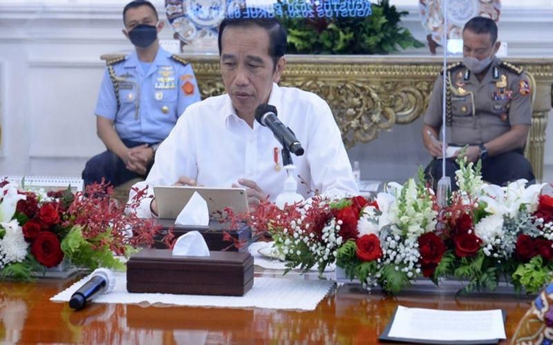 Presiden Joko Widodo. - www.covid19.go.id