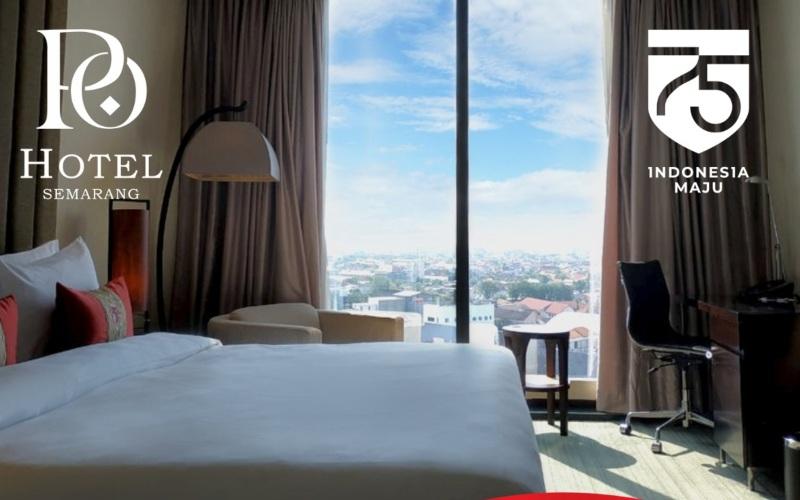 PO Hotel Semarang menawarkan paket promo Independence Day Package untuk para tamu yang ingin melakukan staycation selama periode 10//24 Agustus 2020.