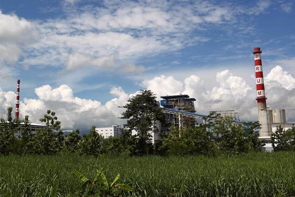 Suasana pabrik PT Rayon Utama Makmur (RUM) di Desa Plesan, Kecamatan Nguter, Kabupaten Sukoharjo, Jawa Tengah, Jumat (23/2/2018). - JIBI/Dwi Prasetya