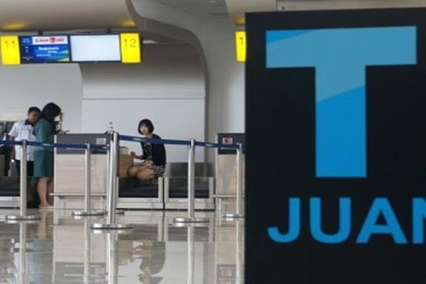 Bandara Juanda. - Antara