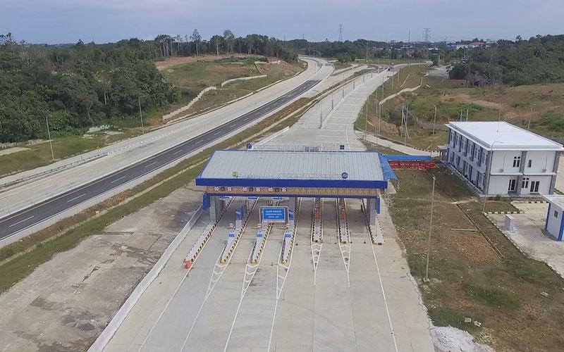 Jalan tol Balikpapan-Samarinda (Balsam) yang terbagi dalam lima seksi akan beroperasi penuh tahun ini. - JIBI/Tim Jelajah Infrastruktur Kalimantan