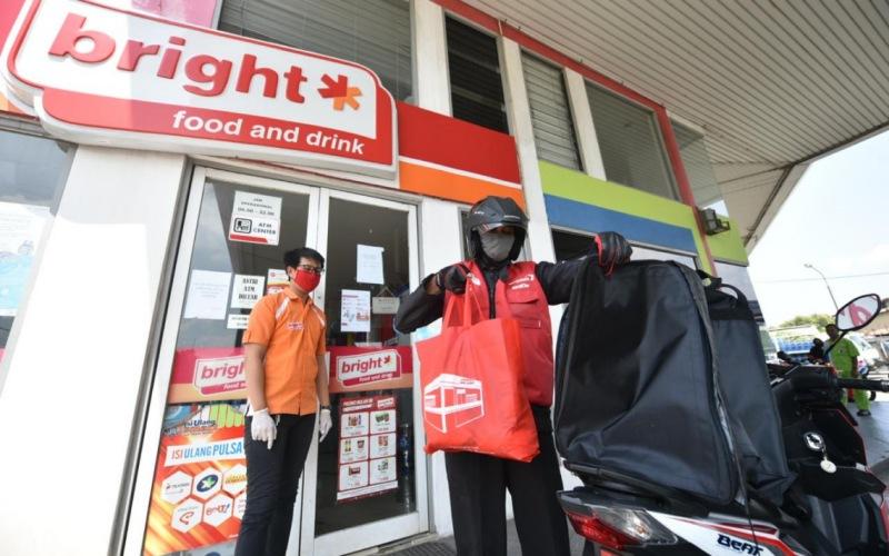 Gerai Bright Store di salah satu SPBU kelolaan PT Pertamina. - Pertamina.com