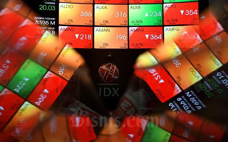 MSKY IHSG 10 Saham Paling Anjlok pada 12 Agustus, KBAG Terbawah - Market Bisnis.com