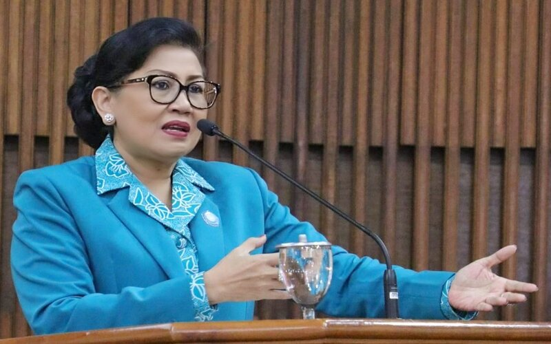 Ketua TP PKK Provinsi Bali Putri Suastini Koster. - Ist