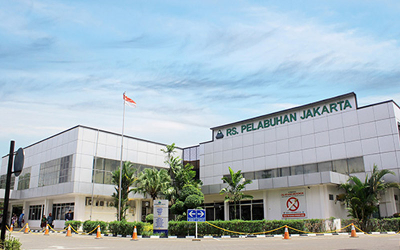 Gedung RS Pelabuhan Jakarta.  - Dok. rspelabuhan.com