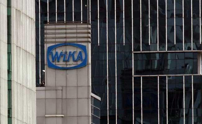 Gedung kantor Wijaya Karya di Jakarta. Bisnis - Arief Hermawan P