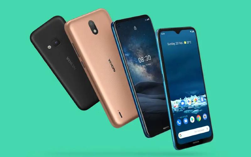 Ponsel cerdas Nokia. Sejak perusahaan mulai beroperasi pada 2016, HMD Global kini hadir di 91 pasar di delapan kawasan dengan 250.000 gerai ritel dan telah menjual lebih dari 240 juta ponsel hingga saat ini.  - hmdglobal.com
