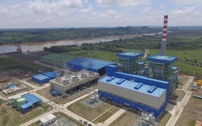 Mesin PLTU Embalut berkapasitas 2x100MW milik Cahaya Fajar Kaltim. Mesin ini  memproduksi listrik untuk didistribusikan ke PLN - Bisnis.com/Tim Jelajah Infrastruktur Kalimantan