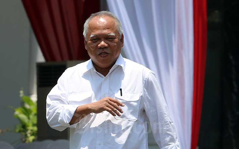 Menteri Pekerjaan Umum dan Perumahan Rakyat (PUPR) Basuki Hadimuljono. /Bisnis - Abdullah Azzam