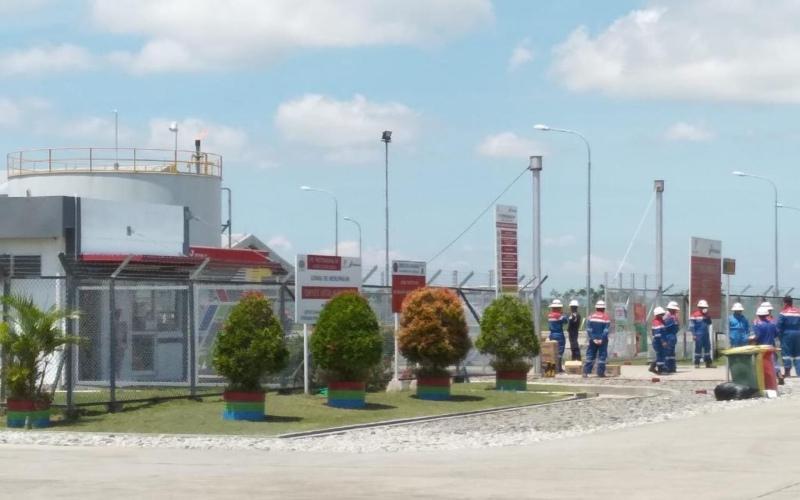 Karyawan Fasilitas Central Processing Plant (CPP) Gas Gundih bagian dari aset PT Pertamina EP - Istimewa  -  Pertamina