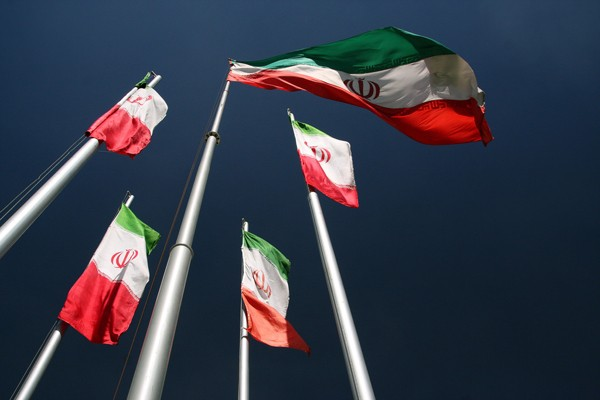 Bendera Iran - Reuters