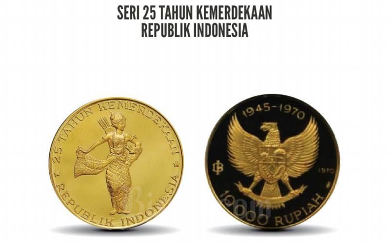 Uang seri khusus 25 tahun kemerdekaan RI-2 - Istimewa/Bank Indonesia