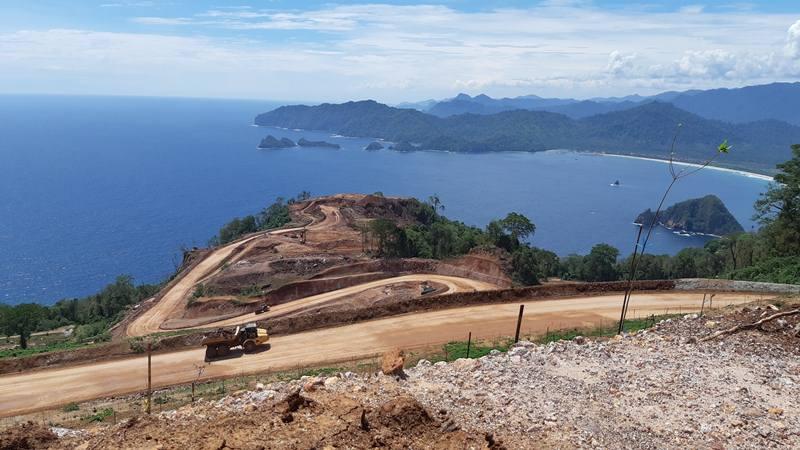 Kondisi hutan Tumpang Pitu Banyuwangi yang menjadi area konsensi tambang emas oleh PT Bumi Suksesindo yang merupakan anak usaha PT Merdeka Copper Gold Tbk (MDKA). MDKA menerbitkan obligasi Rp1,4 triliun. JIBI - Bisnis/Peni Widarti