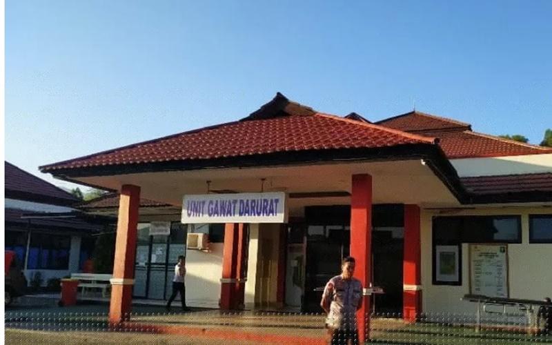 Ruang UGD RS Bahayangkara Jayapura, Papua. - Antara