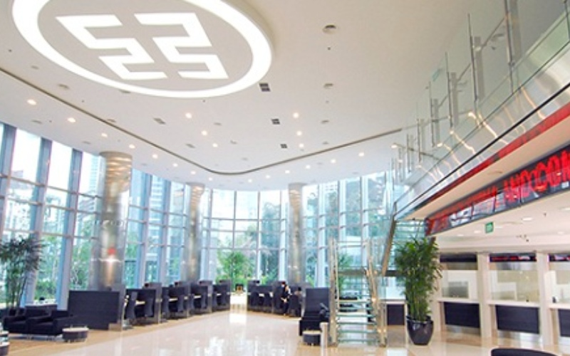 Suasana kantor cabang bank ICBC Indonesia - indonesia.icbc.com