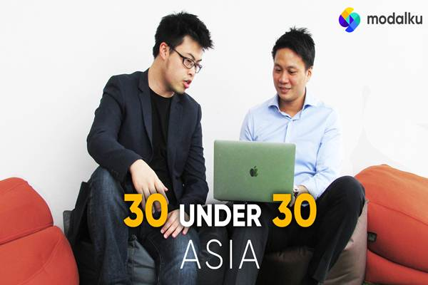 Co Founder Modalku Reynold Wijaya dan Iwan Kurniawan - Istimewa