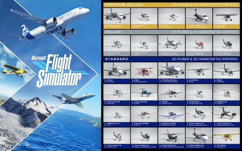 Game (gim) Flight Simulator. - istimewa