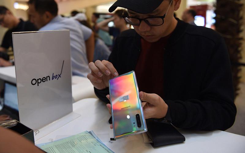 Ilustrasi. Samsung memastikan peluncuran Galaxy Note 20 dan Galaxy Note 20 Plus pada pertengahan kedua tahun ini.  - Samsung
