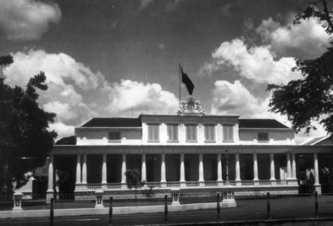 Istana negara yang menjadi bangunan bersejarah. - istimewa