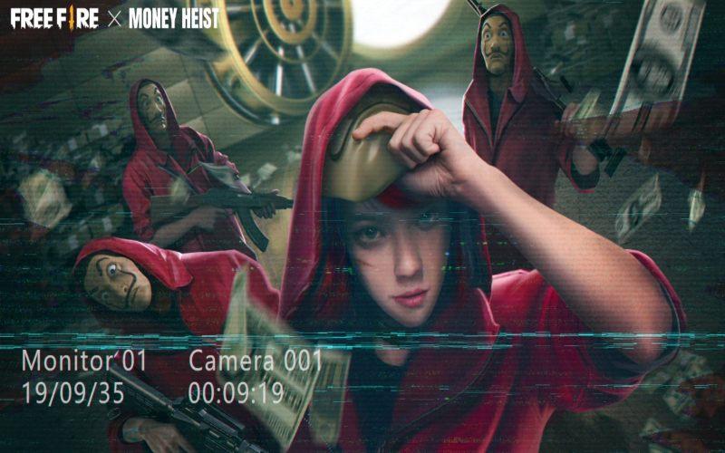 Permainan Money Heist. - istimewa